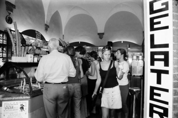 Gelato Shop - San Gimignano, Italy