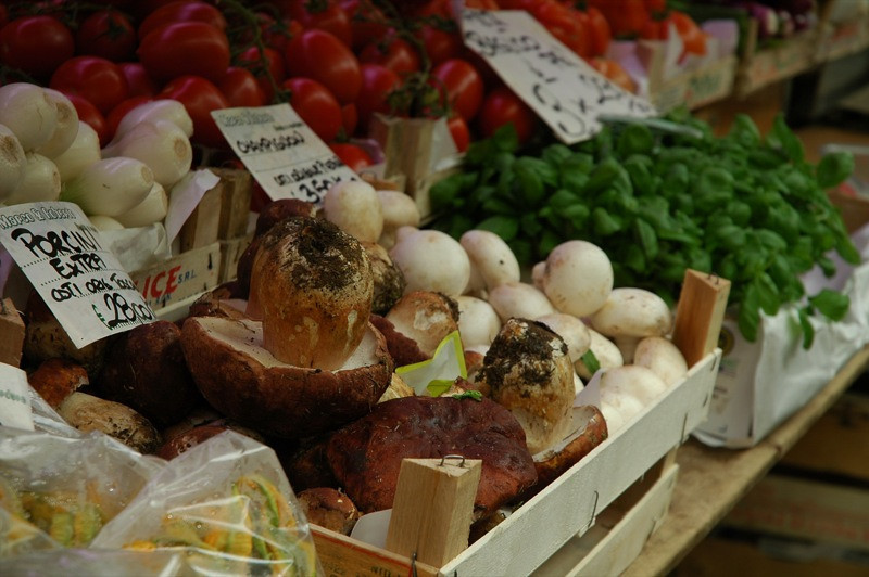 Porcini Mushrooms - Genoa, Italy