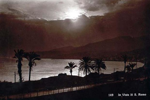 San Remo by Moonlight