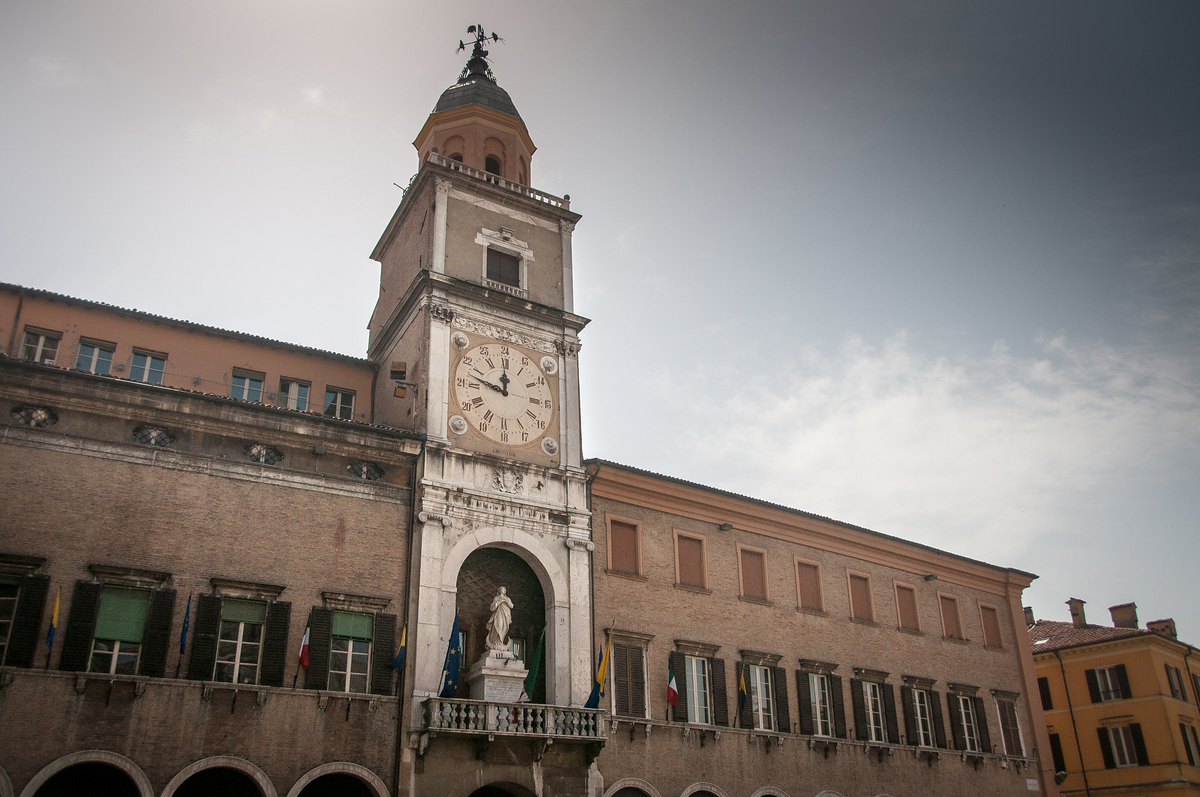 UNESCO World Heritage Site #240: Cathedral, Torre Civica and Piazza Grande, Modena
