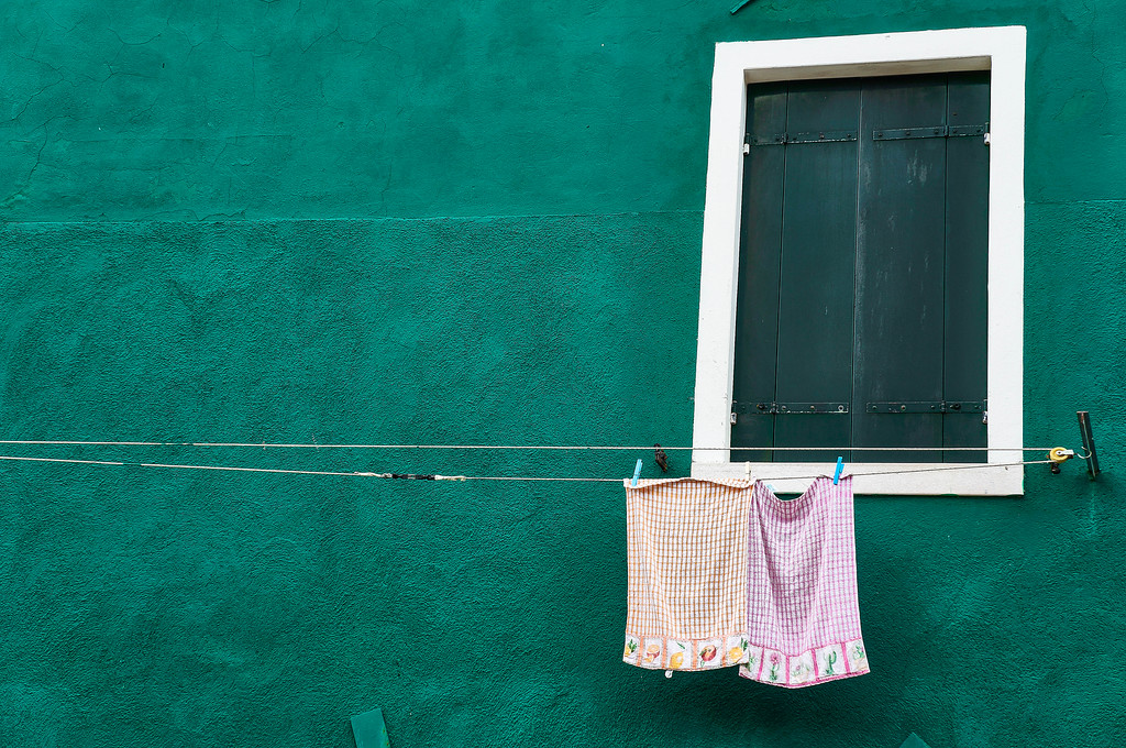 Window in Burano, Italy