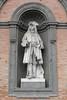 Naples - Royal Palalace - Statue of Charles III