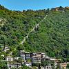 Lake Como to Brunate Funicular Railroad