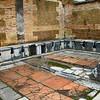 Italy, Ostia Antica, Public Latrine (lavatrinae)