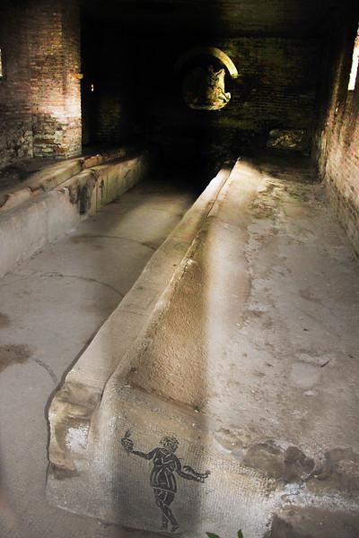 Italy, Ostia Antica, Bath House