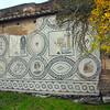 Italy, Ostia Antica, Wall Mosaic