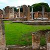 Italy, Ostia Antica, Forum