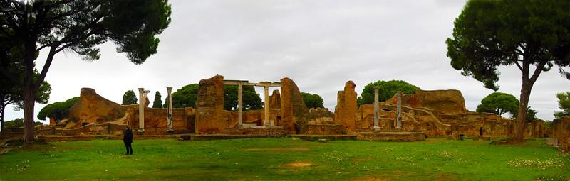 Italy, Ostia Antica, Campo Della Magna Mater