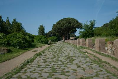 Main walkway at Ostia Antica, Italy
