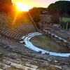 Italy, Ostia Antica, Amphitheatre