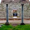 Italy, Ostia Antica, Ruins of Villa Entrance