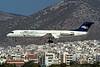 "I-ALPX Fokker 100 ""AlpiEagles"" c/n 11251 Athens-Hellenikon/LGAT/ATH 24-09-00 ""Banco Antonventa"" (35mm slide)"