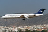 """I-ALPL Fokker 100 """"AlpiEagles"""" c/n 11250 Athens-Hellenikon/LGAT/ATH 20-09-00 (35mm slide)"""