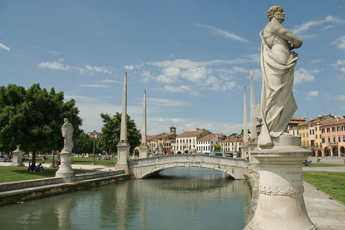 The Prato della Valle, Padua, Italy
