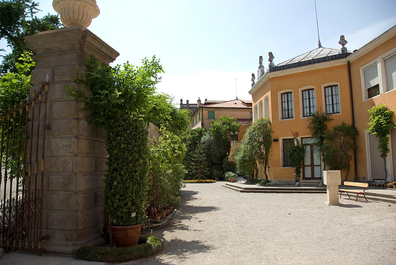 The complex within the Botanical Garden of Padova - Padua, Italy