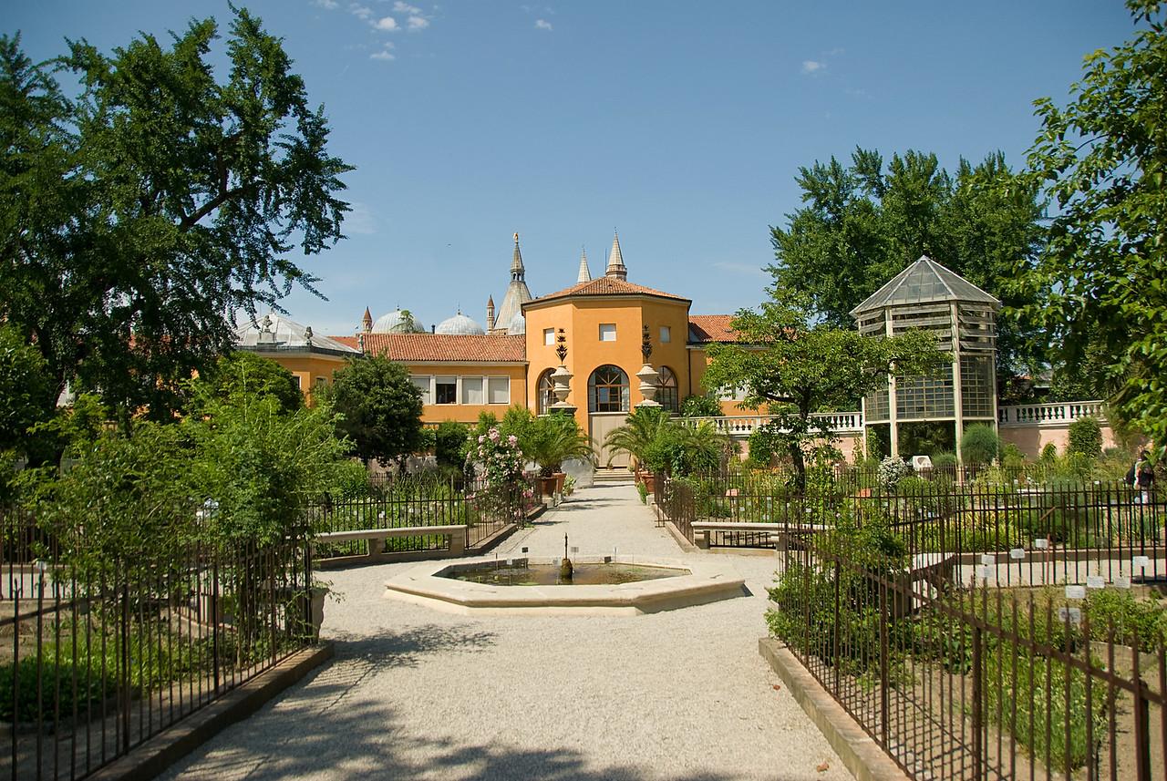 Fountain of Theophrastus at the Botanical Garden of Padua - Italy