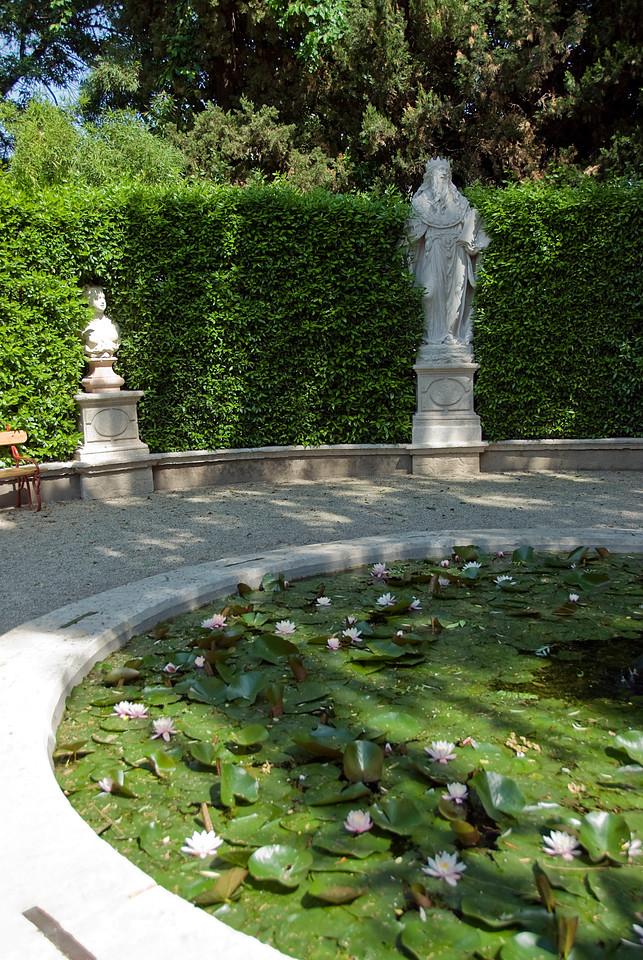 Statue of Solomon in Orto Botanico of Padua - Italy