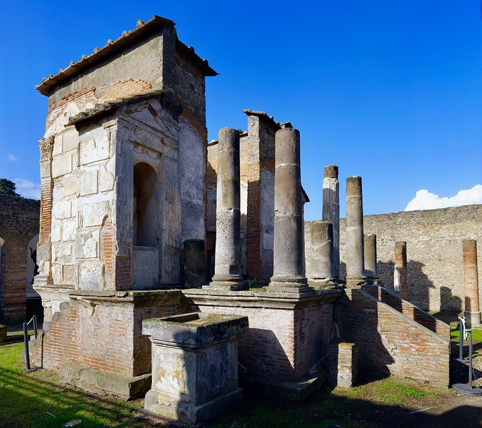 Isis Temple main shrine