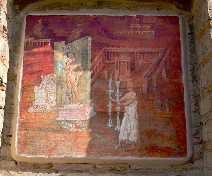 Isis Temple at Pompeii