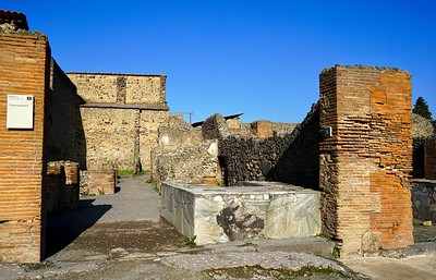 Shops of Pompeii
