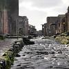 Italy, Ruins of Pompeii, Lava Road