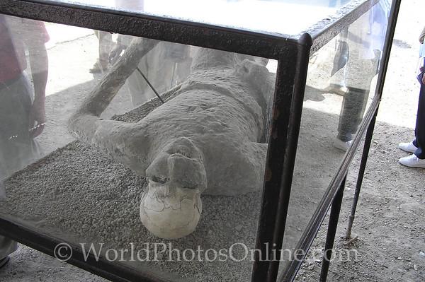 Naples - Pompeii - Ash Victum (Man) S