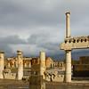 Italy, Ruins of Pompeii, Forum