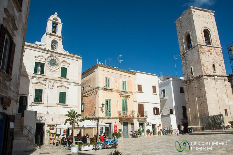 Piazza Dell'Orologio, Polignano a Mare - Puglia, Italy