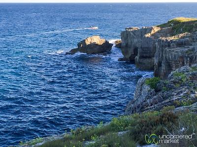Driving along the Adriatic Sea - Puglia, Italy