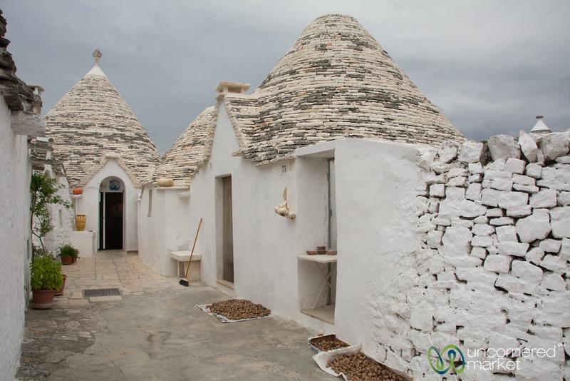 Trullo homes in Alberobello - Puglia, Italy