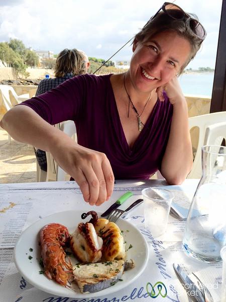 Seafood Lunch at La Maruzella - Lido Conchiglie, Puglia, Italy