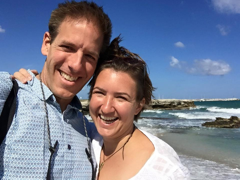Dan and Audrey, 15th Wedding Anniversary - San Foca Beach, Puglia, Italy
