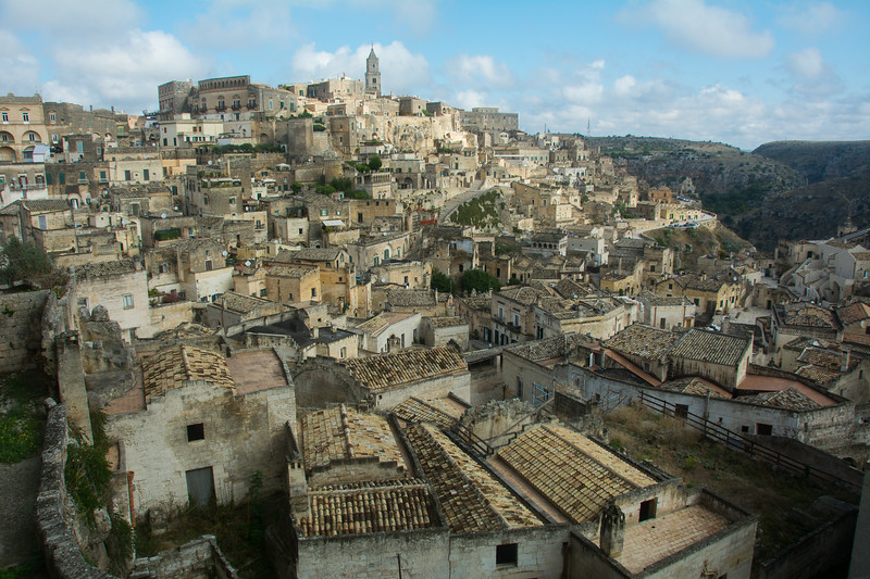 Matera and its Sassi (cave dwellings) - Basilicata, Italy