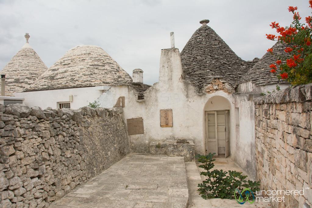 Trulli houses in Alberobello - Puglia, Italy