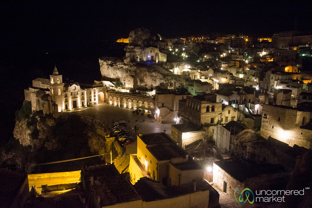 Matera by Night - Basilicata, Italy