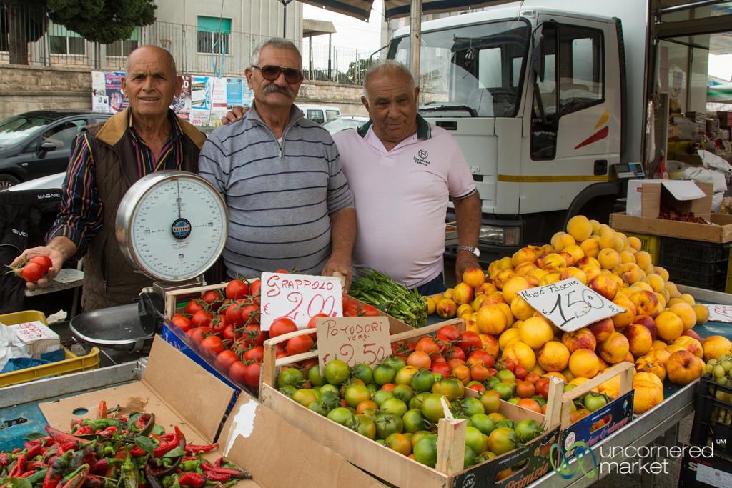 Market Day in Cisternino - Puglia, Italy