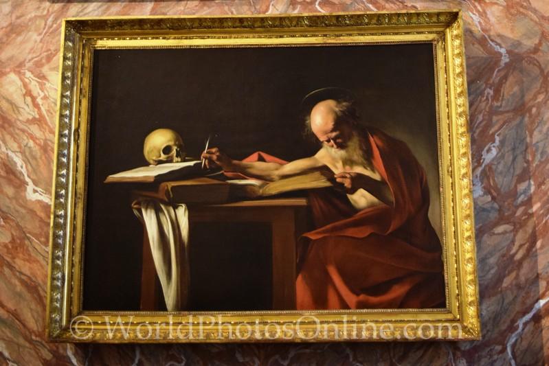Caravaggio - Saint Jerome Writing