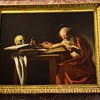Caravaggio - Saint Jerome Writing