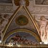 Upper Gallery - Trompe L'oeil Ceiling Pediment