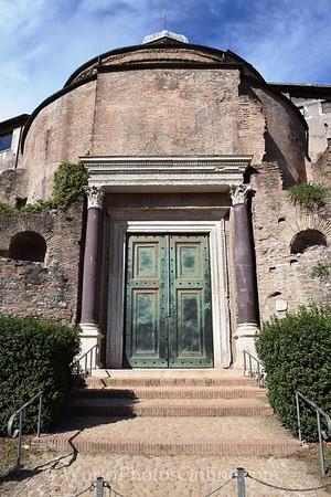 Forum - Temple of Romulus