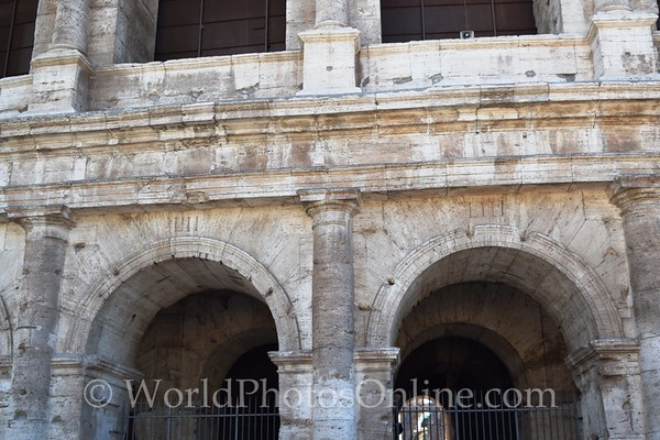 Coliseum 8 - Arch Numbers