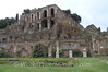 Rome - Forum - Temple of Vestal Virgins with Palatine Hill S
