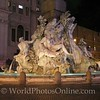 Piazza Navona - Bernini - Fountain of the four rivers