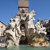 Piazza Navona - Bernini - Fountain of the four rivers