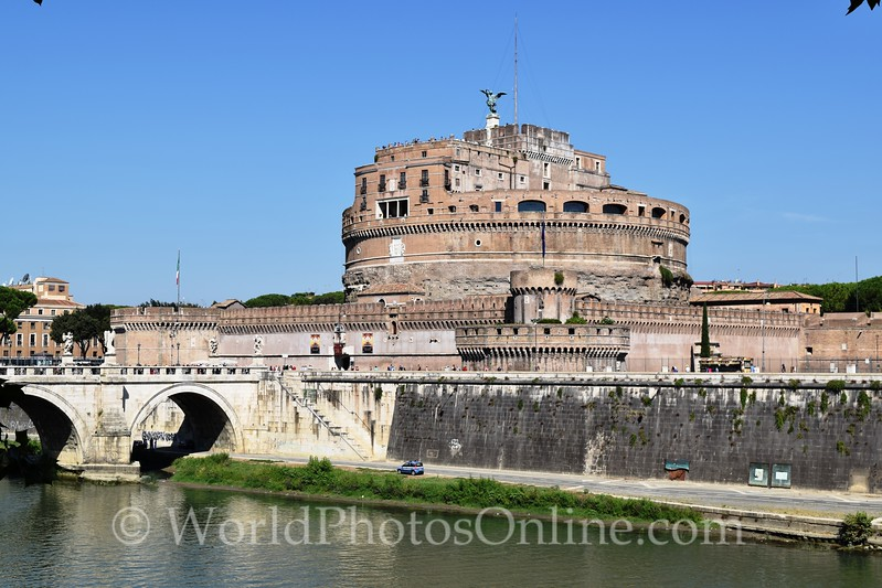 Castel Sant'Angelo or Mausoleum of Hadrian