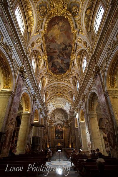 "<a target=""NEWWIN"" href=""http://en.wikipedia.org/wiki/San_Luigi_dei_Francesi"">Chiesa di San Luigi dei Francesi</a>, Roma"