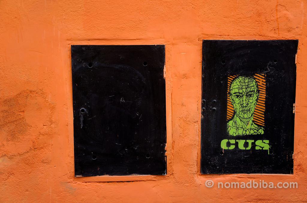 Stencil in Rome