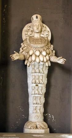 Rome - Statue of Artemis at Vatican Museum