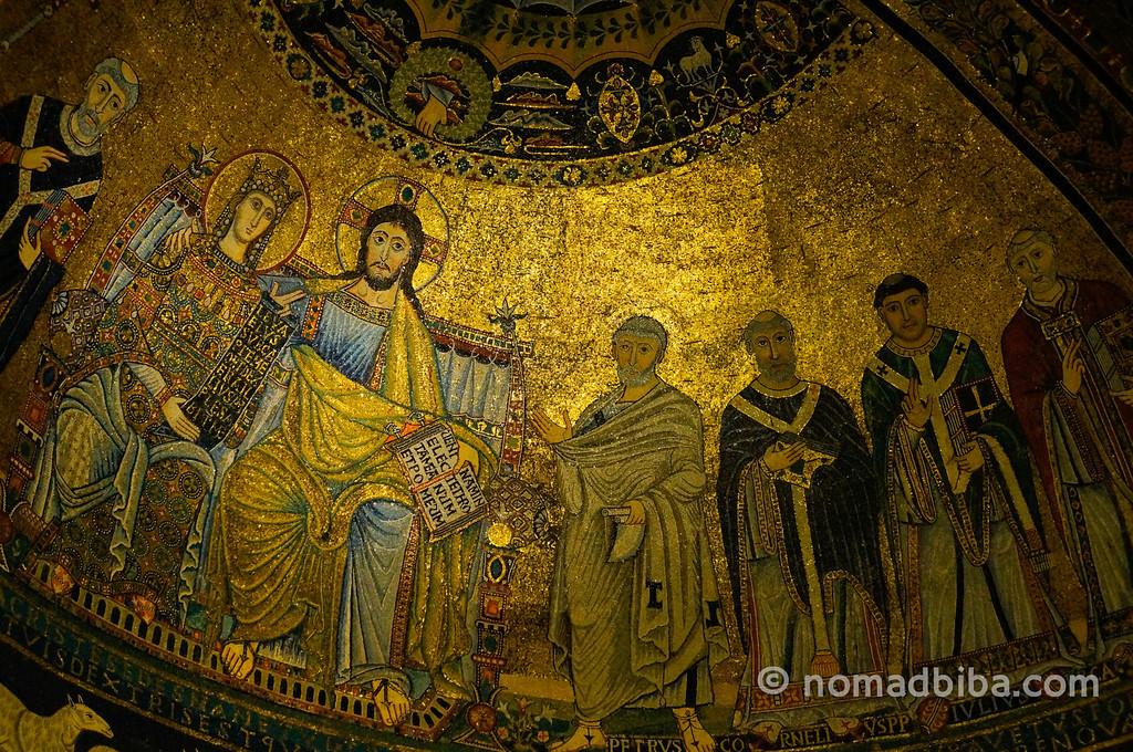 Mosaic in Santa Maria in Trastevere