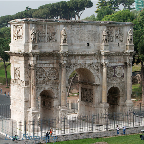 "<a target=""NEWWIN"" href=""http://en.wikipedia.org/wiki/Triumphal_Arch_of_Constantine"">Arco di Constantino</a>, Roma"